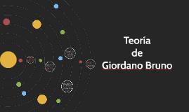 Teoría de Giordano Bruno