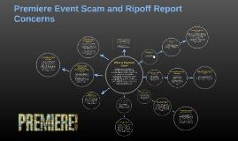 Premiere Event Scam and Ripoff Report