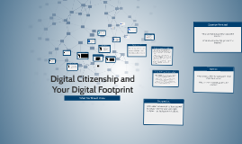 Digital Citizenship and Your Digital Footprint 8th Grade Revised