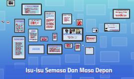 Copy of TITAS bab6: ISU-ISU SEMASA DAN MASA DEPAN