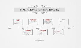 Copy of EVALUACIONES INTERNACIONALES