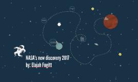 NASA's new discovery 2017
