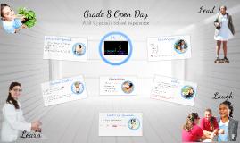 Grade 8 Open Day 2014
