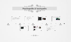 Psychopaths & Sociopaths