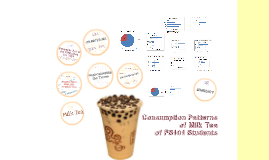 Consumption Patterns of Milk Tea of FS 101 Students