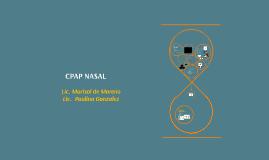 CPAP NASAL DE BURBUJA- Marisol de Moreno