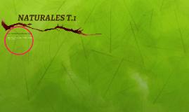 NATURALES T.1