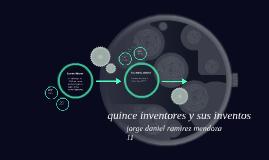 Copy of quince inventores y sus inventos