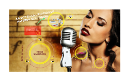Copia de Clasificación de las voces en Música