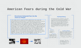 American Fears during the Cold War