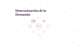 Determinacion de la Demanda