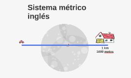 Sistema métrico inglés