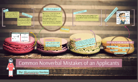 Common Nonverbal Mistakes of an Applicants