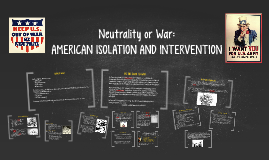 Neutrality or War: