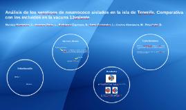 Análisis de los serotipos de neumococo aislados en la isla d