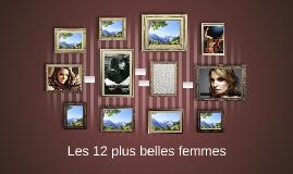 Les 12 plus belles femmes