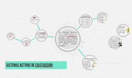 SISTEMAS ACTIVOS DE CALEFACCION