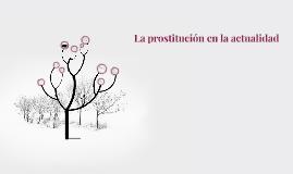 La prostitución en la actualidad
