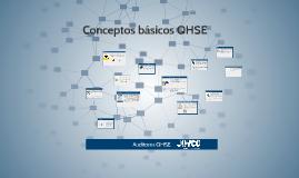 Conceptos basicos QHSE