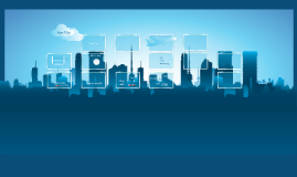 Blue Buildings Template