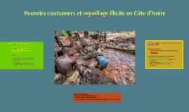Copie de Orpaillage illégal en Côte d'Ivoire