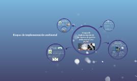 Etapas de implementacion de un sistema de gestion ambiental