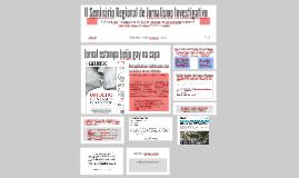 II Seminário Regional de Jornalismo Investigativo - Abraji
