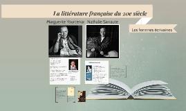 La littérature française du