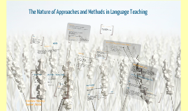the nature of approahes and methods in language learning