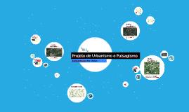 Projeto de Urbanismo e Paisagismo
