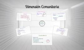 Copy of dimension comunitaria