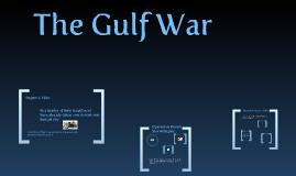 The Gulf War by Jorge Briones