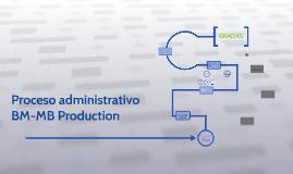 Proceso administrativo  BM-MB Production