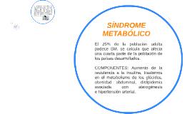 Copy of SINDROME METABÓLICO