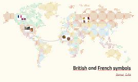 British and French symbols