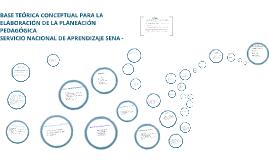 Copy of BASE TEÓRICA CONCEPTUAL PARA LA ELABORACIÓN DE LA PLANEACIÓN PEDAGÓGICA