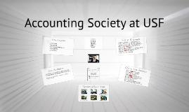 Accounting Society at USF