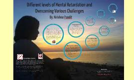Copy of Levels of Mental Retardation