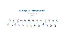 Malaysia 1950-present