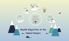 Health Disparities in the Inland Empire