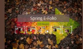 Spring E-Folio
