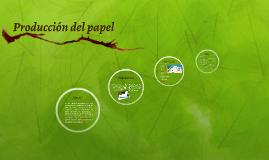 producción del papel