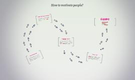 ¿Cómo motivar a la gente?
