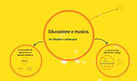 Copy of Educazione e musica.