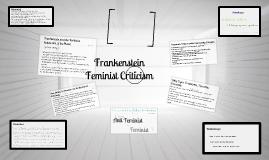 Frankenstein Feminist Criticism