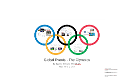 Global Events - The Olympics