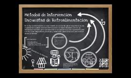 Copy of Intervenciones Organizacionales, Encuestas de Retroalimentación