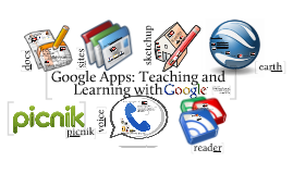 Copy of Google Apps, Teaching and Learning with Google