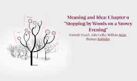 Meaning and Idea: Chapter 9