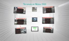 Terremoto de Mexico 1985